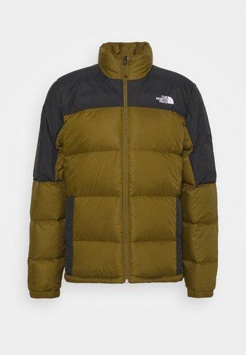 DIABLO JACKET  - Down jacket - fir green/black