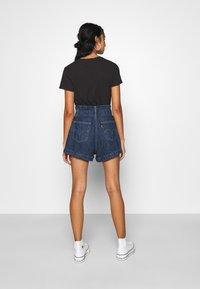 Levi's® - HR PAPERBAG SHORT - Jeans Short / cowboy shorts - fused - 2
