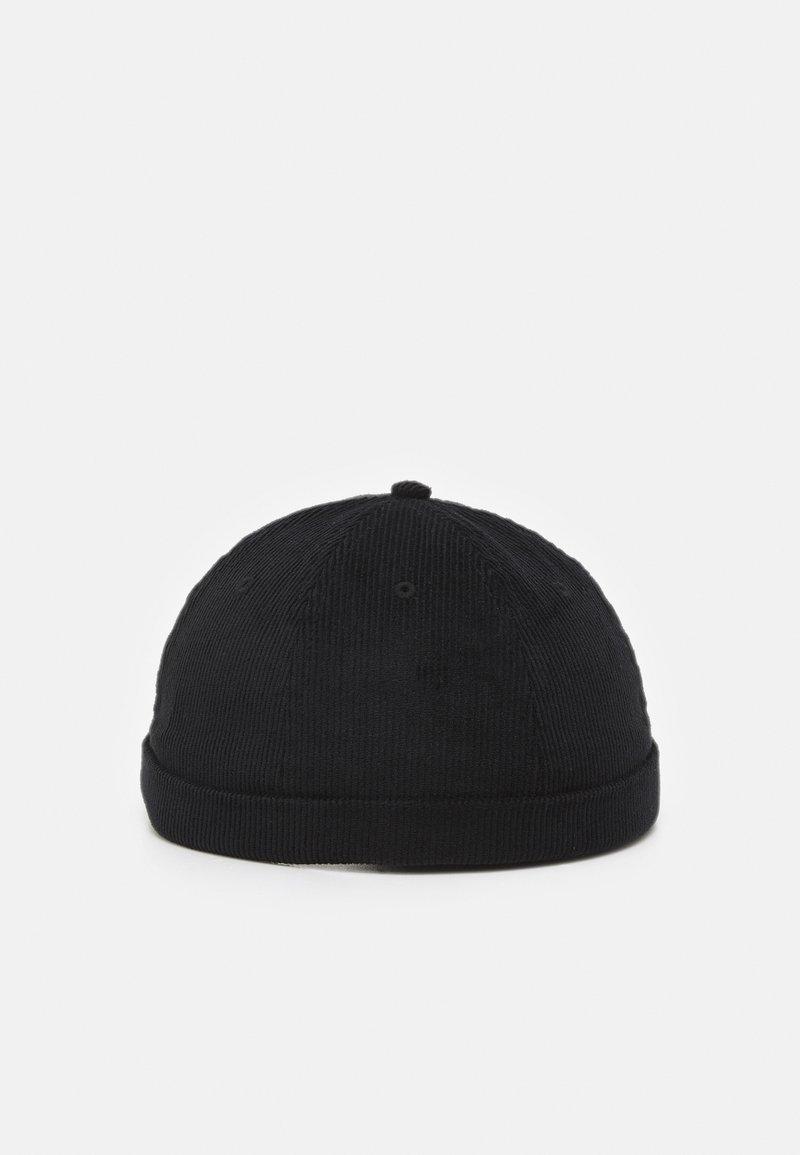 Jack & Jones - JACSTEVEN ROLL HAT - Beanie - black
