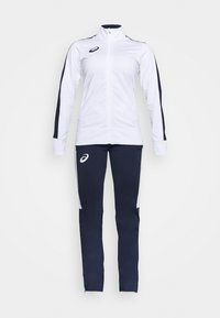 ASICS - WOMAN SUIT - Tracksuit - real white - 6
