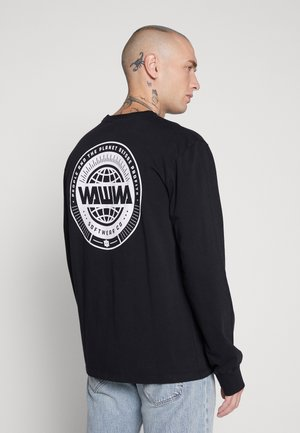 UNISEX LOGO LONGSLEEVE - Långärmad tröja - black