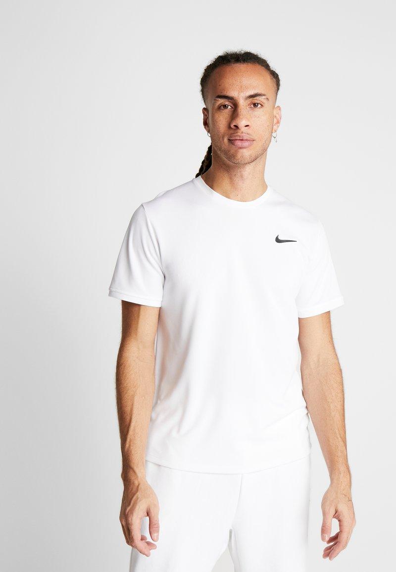 Nike Performance - DRY - Basic T-shirt - white/black