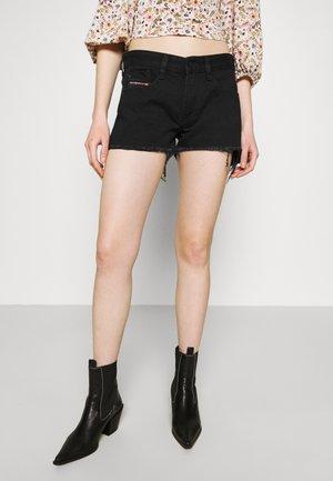 DE-RIFTY - Szorty jeansowe - denim black