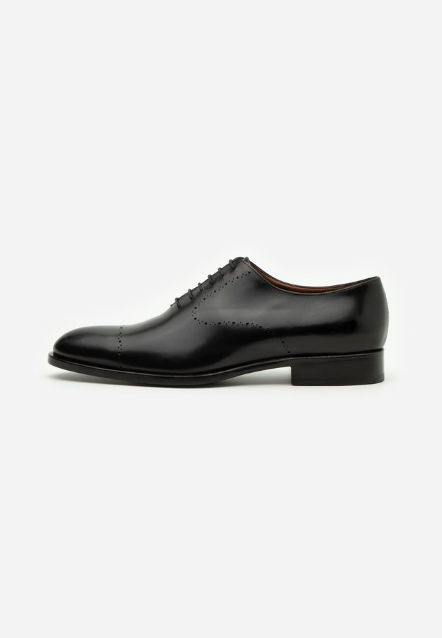 Smart lace-ups - garwood nero