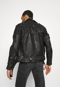Be Edgy - BART - Leather jacket - black - 2