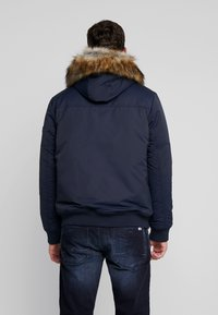 TOM TAILOR DENIM - TRIMMED BOMBER - Winter jacket - sky captain blue - 2