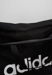 adidas Performance - LIN DUFFLE L - Sporttas - black/white - 4