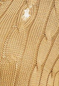 Polo Ralph Lauren - CLASSIC - Sweter - luxury tan - 5