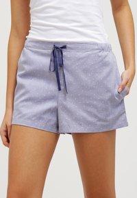 Schiesser - MIX & RELAX - Bas de pyjama - dunkelblau - 0