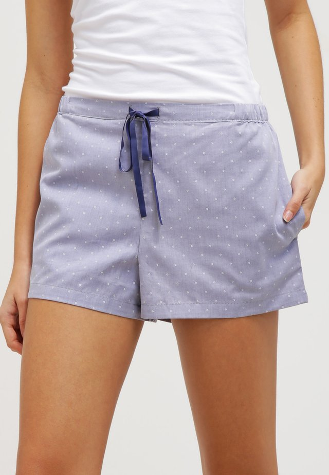 MIX & RELAX - Pyžamový spodní díl - dunkelblau