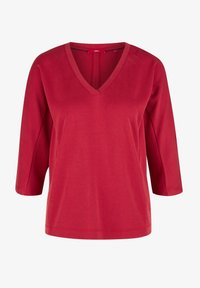 s.Oliver - Long sleeved top - dark red - 5