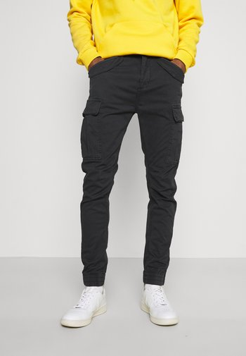 VILLANUVA - Cargo trousers - black
