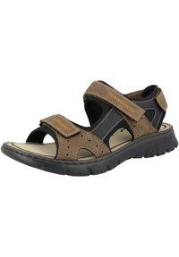 Rieker - Walking sandals - almond-black-black - 1