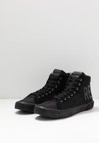 Replay - BASKIN - Sneakers alte - black - 2