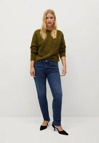 Violeta by Mango - VALENTIN - Straight leg jeans - dunkelblau - 1