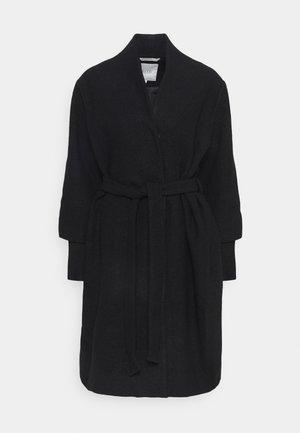 TERRA - Classic coat - black