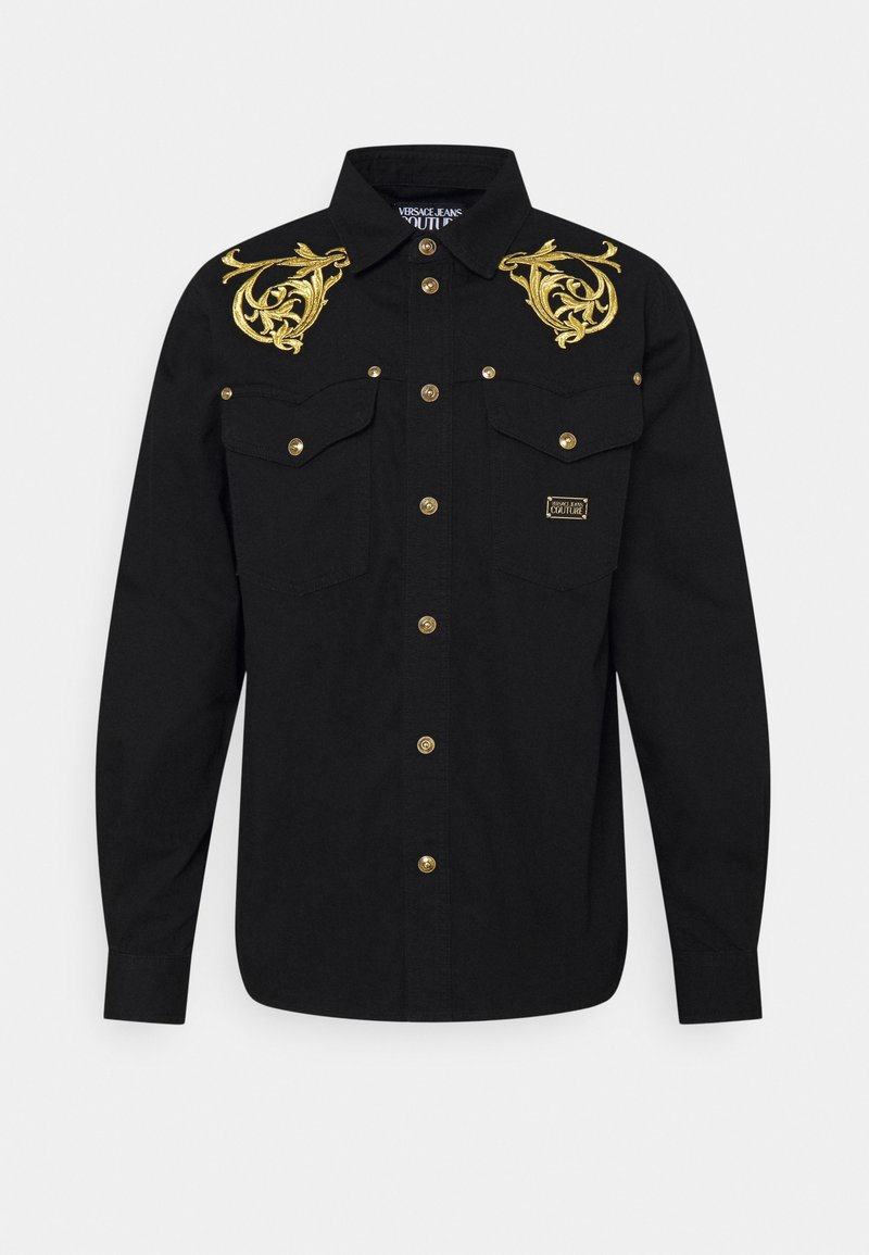 Versace Jeans Couture - FIXED RINSE - Shirt - black