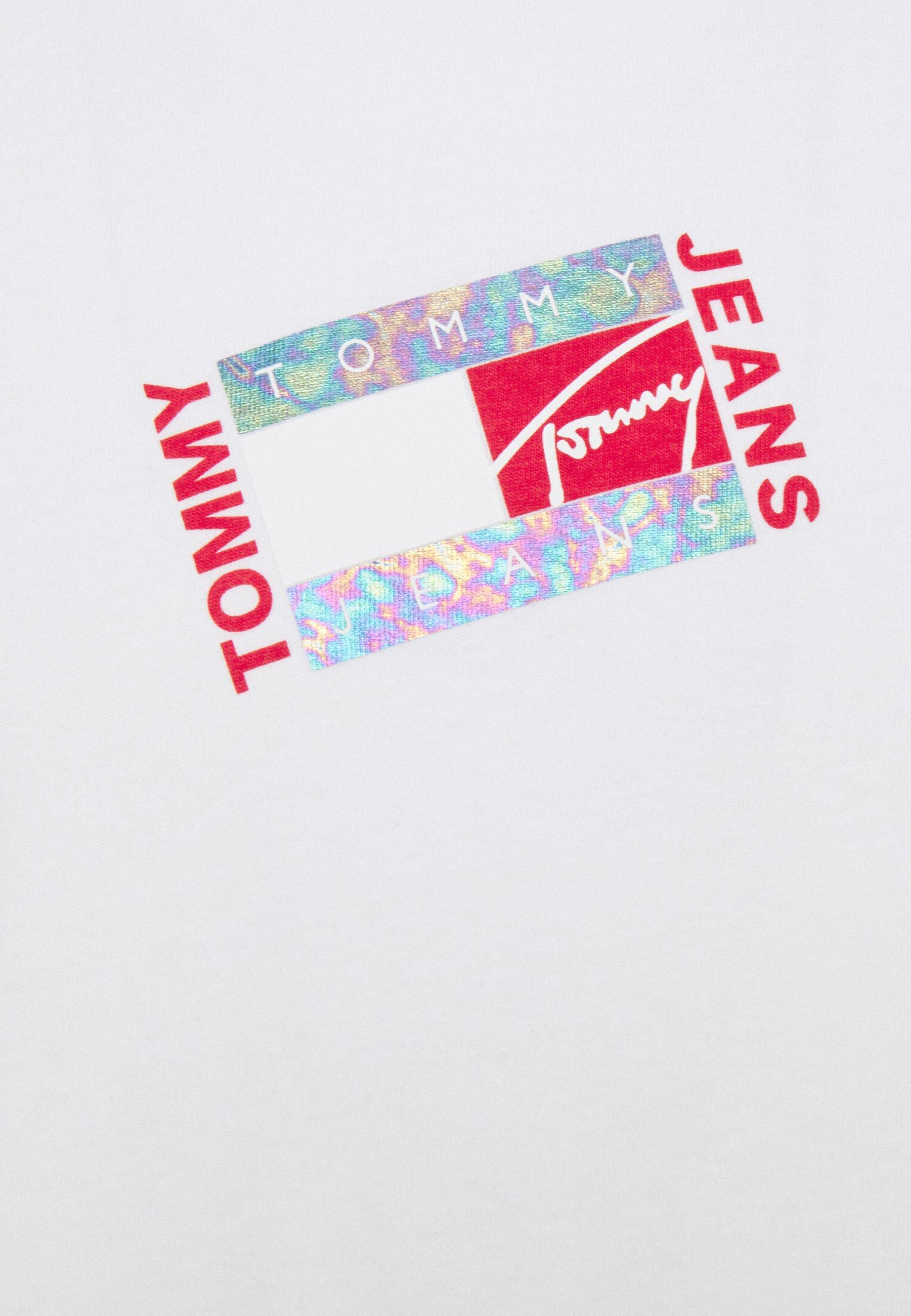 Men SMALL FLAG BOX LOGO TEE UNISEX - Long sleeved top