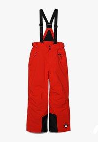 Killtec - GAUROR UNISEX - Zimní kalhoty - dunkelorange - 0