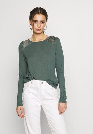 ONLNICOLE - Long sleeved top - balsam green
