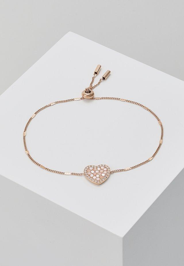 VINTAGE GLITZ - Bracelet - roségold-coloured