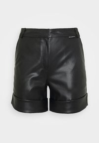 KARL LAGERFELD - Leather trousers - black - 3