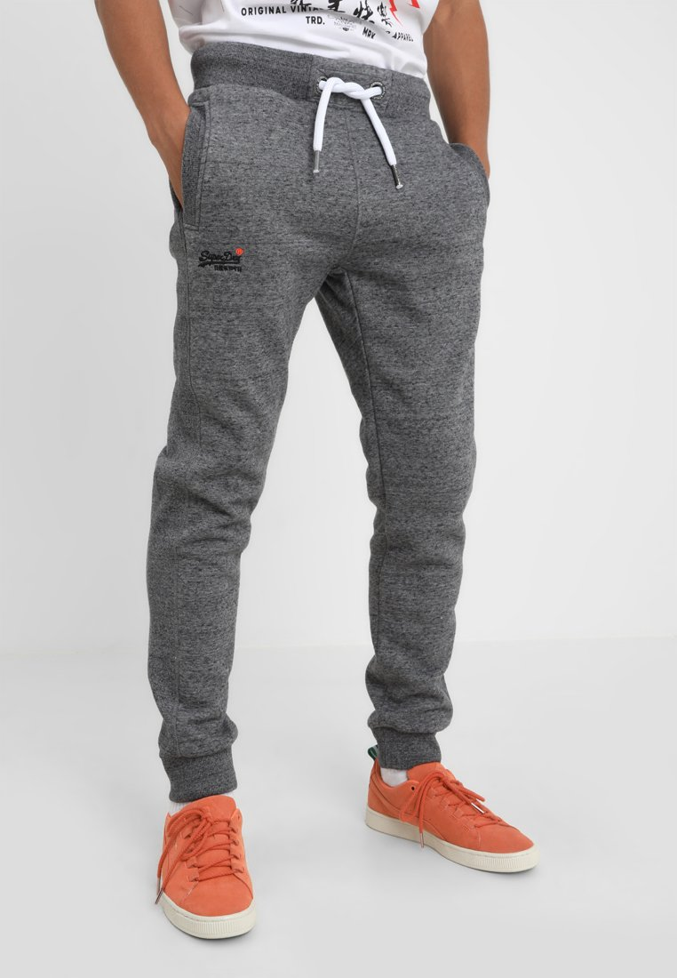 Superdry - Tracksuit bottoms - flint grey grit