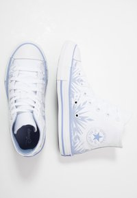 Converse - CHUCK TAYLOR ALL STAR FROZEN - Sneaker high - white/blue heron - 1