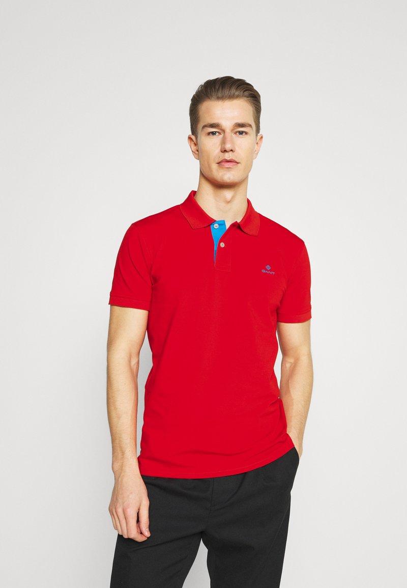 GANT - RUGGER - Polo shirt - lava red