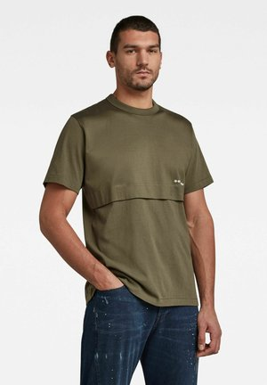 MERCERIZED C&S LOOSE - T-shirt con stampa - combat