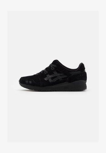 GEL-LYTE III UNISEX - Sneakersy niskie - black