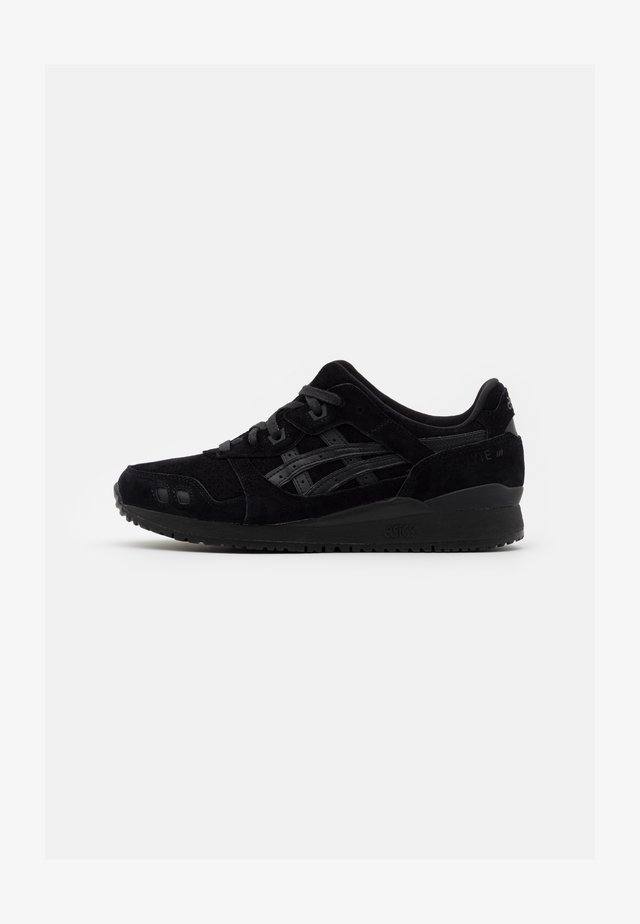 GEL-LYTE III UNISEX - Zapatillas - black