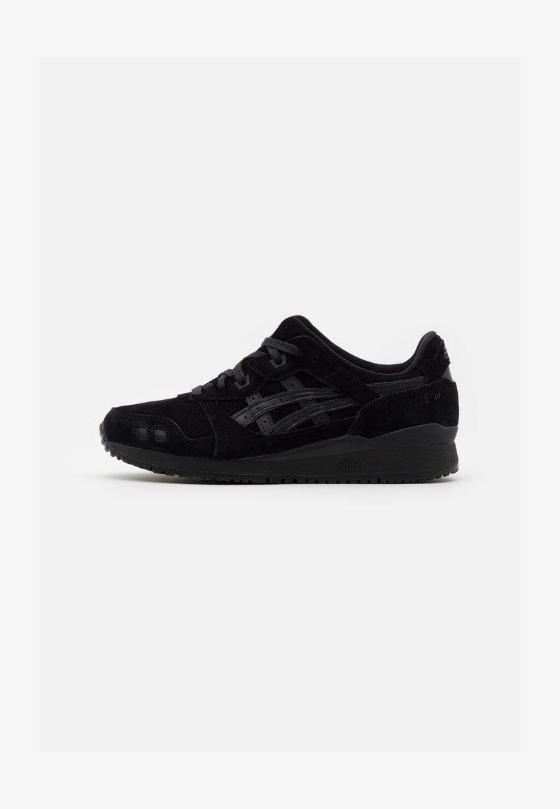 ASICS SportStyle - GEL-LYTE III UNISEX - Sneakers basse - black