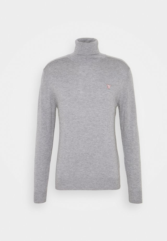 TURTLE NECK  - Jumper - stone heather grey