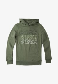 O'Neill - Hoodie - olive leaves - 0