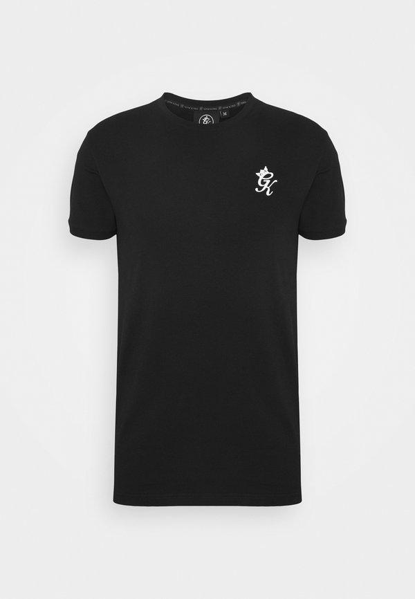 Gym King ORIGIN - T-shirt basic - black/czarny Odzież Męska VMQO