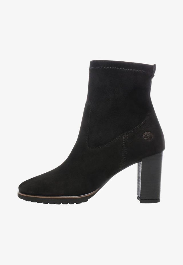 LESLIE ANNE STRETCH  - High Heel Stiefelette - black
