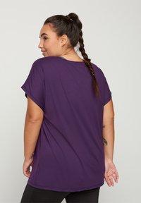 Active by Zizzi - Camiseta básica - purple - 2