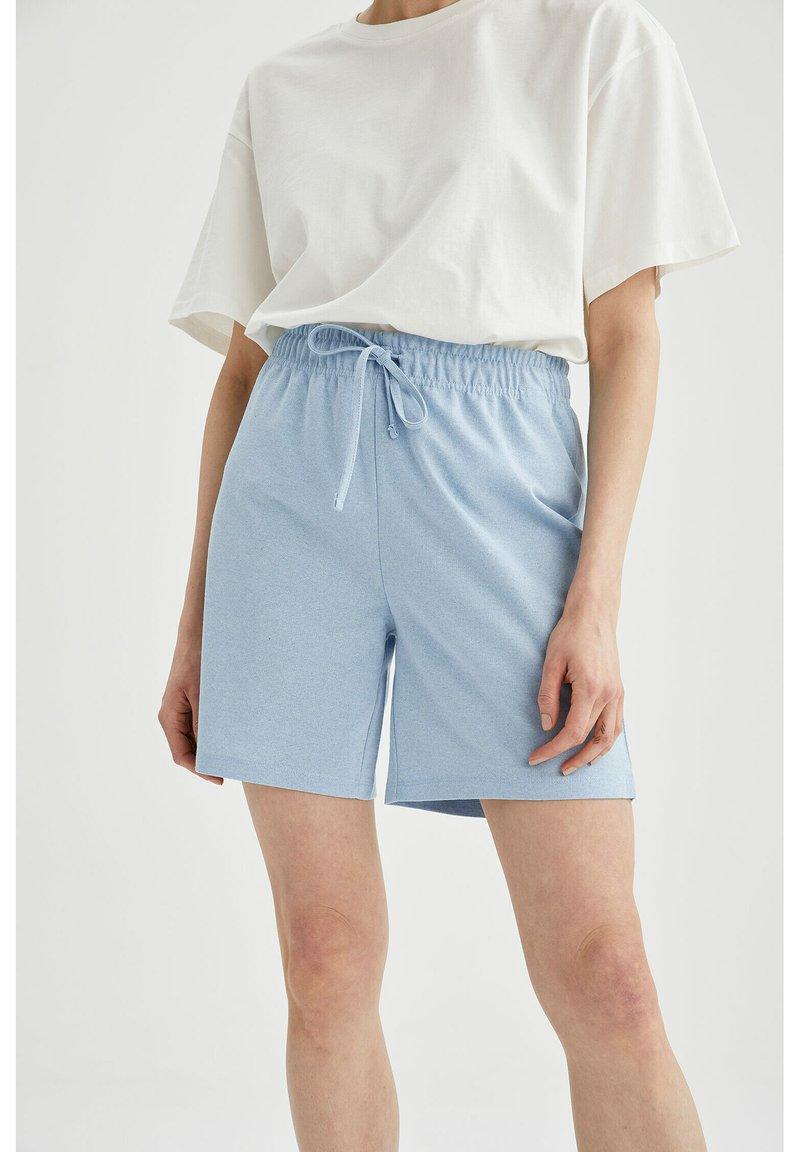 DeFacto - Shorts - blue