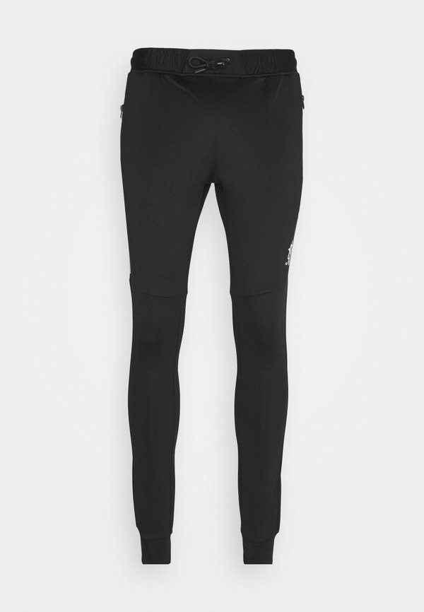 Gym King CHIBA TRACKSUIT BOTTOMS - Spodnie treningowe - black/grey marl/szary Odzież Męska YGQU