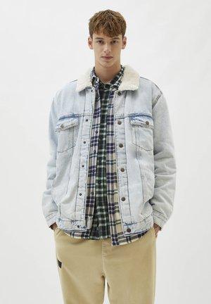 Denim jacket - blue-grey