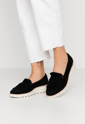 SHARON DASHER - Slip-ons - black