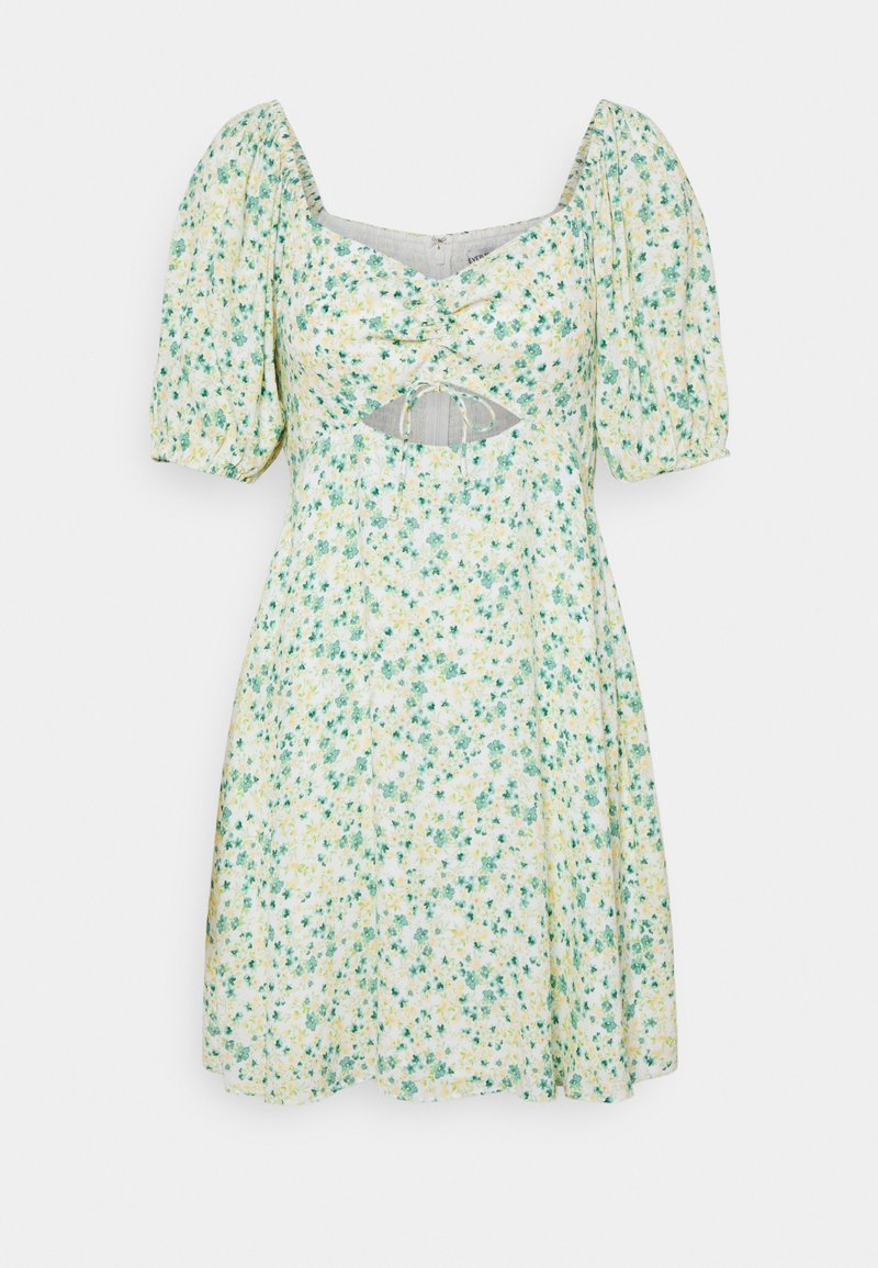 Forever New - KELLY CUT OUT SKATER DRESS - Robe d'été - riviera ditsy