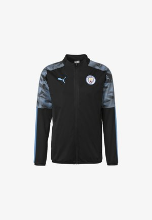 Sports jacket - puma black-team light blue