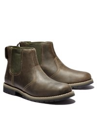 Timberland - LARCHMONT II CHELSEA - Boots - olive full grain - 2