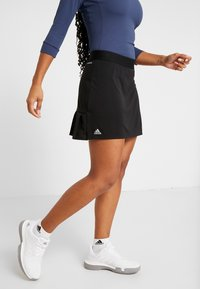 adidas Performance - CLUB LONG SKIRT - Sports skirt - black - 0
