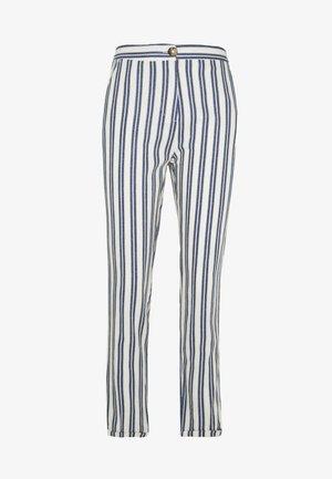LINO RAYAS - Pantalones - light blue