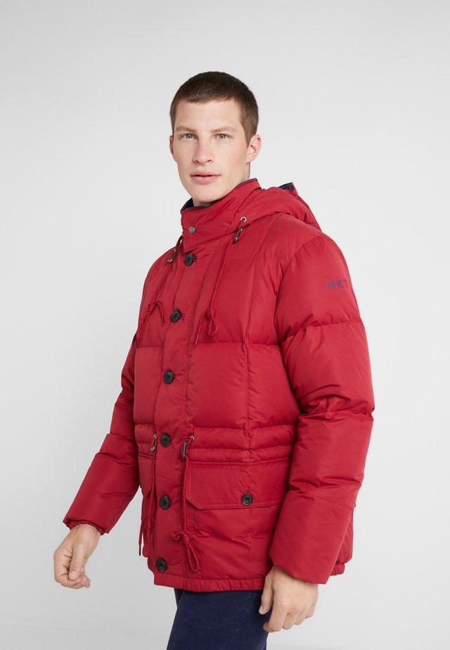 Płaszcz puchowy - patriot red