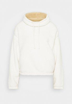 REVERSIBLE SHERPA - Fleece jumper - tan/cream