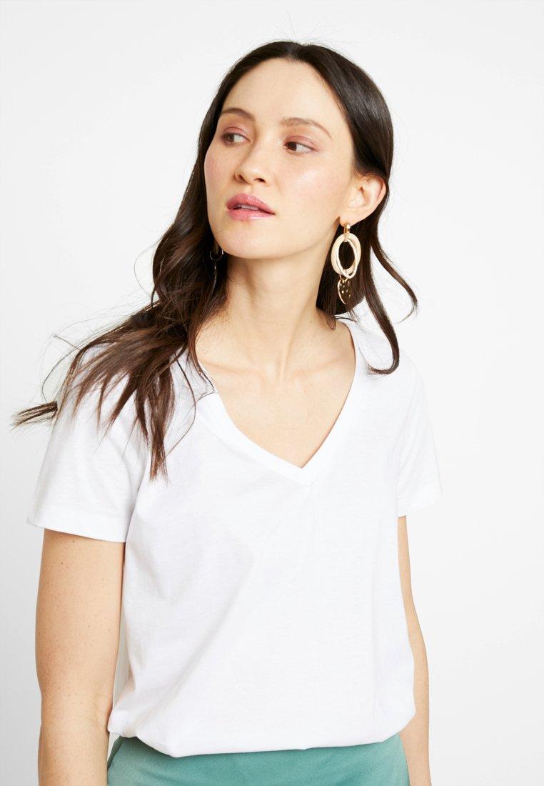 Zalando Essentials - Basic T-shirt - white
